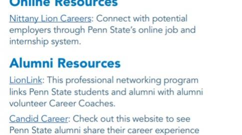 Tips for using Career Services