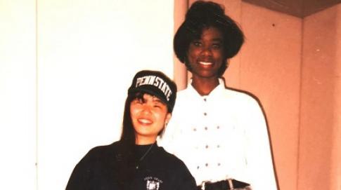 Denita and Megumi