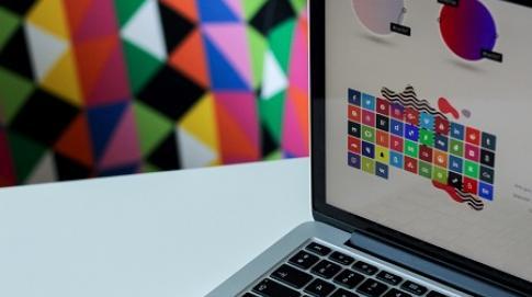 Design image on screen