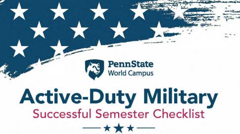 Active Military Successful Semester Checklist